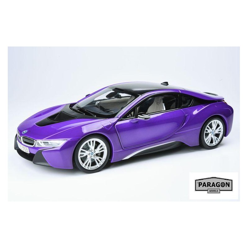2017 BMW I8 Purple